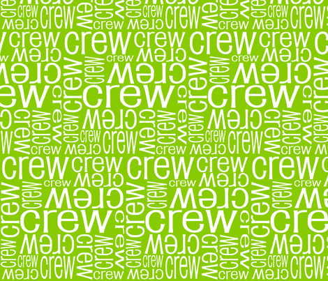 Personalised Name Fabric - Lime fabric by shelleymade on Spoonflower - custom fabric