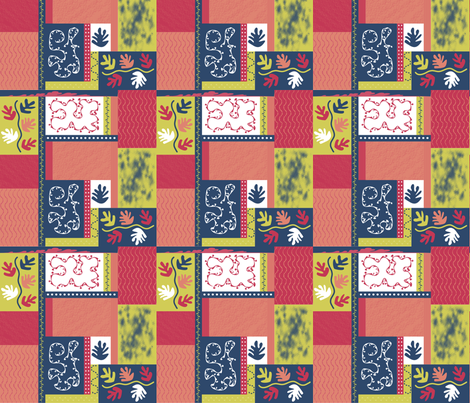 Matisse Knock-Off fabric by kstarbuck on Spoonflower - custom fabric