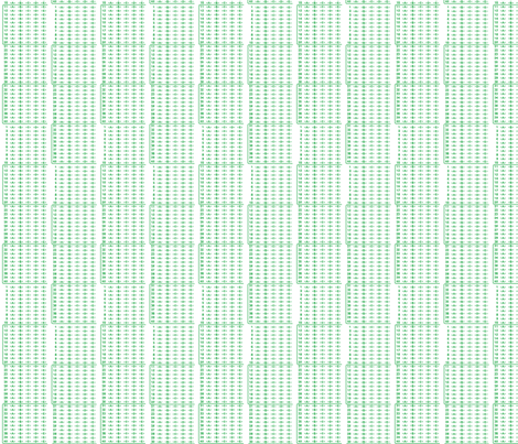 Scantron rectangles fabric by mongiesama on Spoonflower - custom fabric