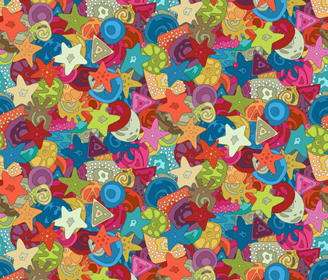 MILLI (small) fabric by scrummy on Spoonflower - custom fabric