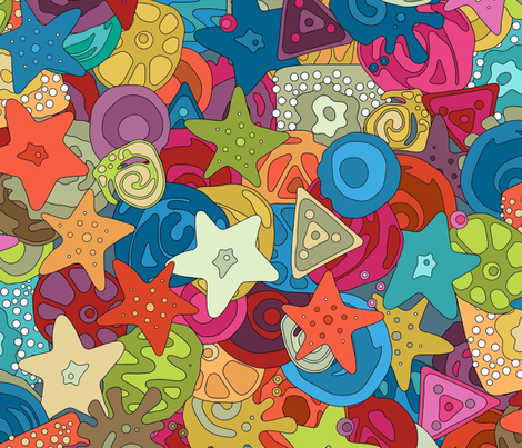 MILLI (large) fabric by scrummy on Spoonflower - custom fabric