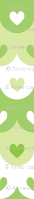 Hearts scallops (green)