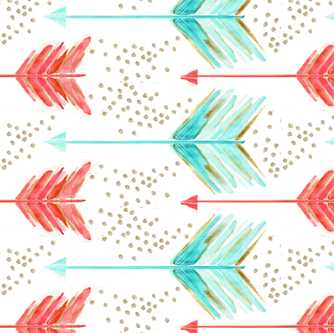 .a shot in water. fabric by emilysanford on Spoonflower - custom fabric