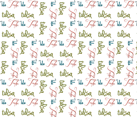 Tulsa Fabric 2 fabric by tulsa_gal on Spoonflower - custom fabric