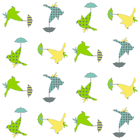 rainybirds fabric by golders on Spoonflower - custom fabric