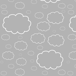 Cartoon Sky (Gray)