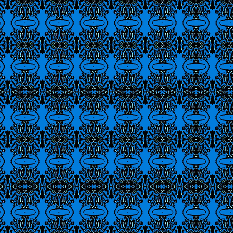 blue water fabric by dk_designs on Spoonflower - custom fabric