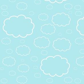 Cartoon Sky (Aqua)