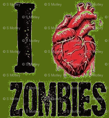 I love zombies-green
