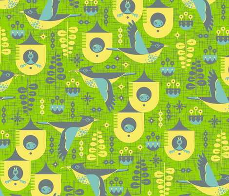 Early Bird fabric by sammyk on Spoonflower - custom fabric