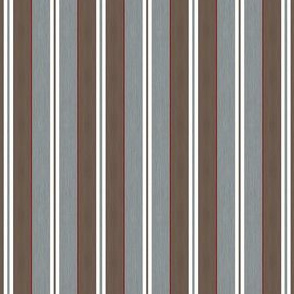 Vintage Christmas Stripes