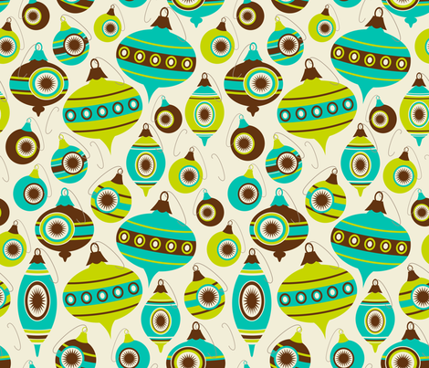 Sassy Stripes ~ Lime Chill fabric by retrorudolphs on Spoonflower - custom fabric