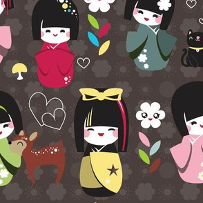 Kokeshi Dolls