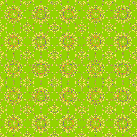 fancy_circle-grn fabric by kerryn on Spoonflower - custom fabric