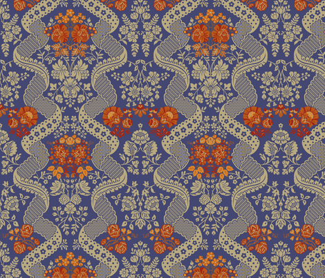 Rococo VA1a fabric by muhlenkott on Spoonflower - custom fabric