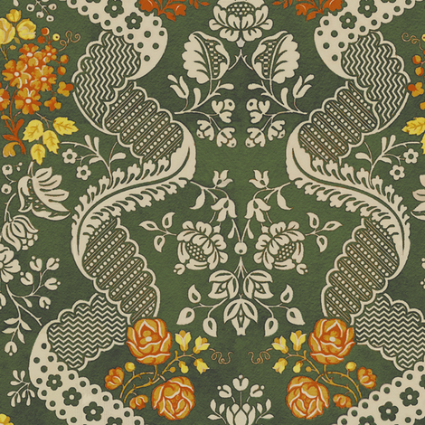 Rococo VA 1b fabric by muhlenkott on Spoonflower - custom fabric