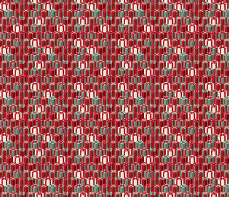 Holiday Boxes Mini fabric by papermoonpatterns on Spoonflower - custom fabric