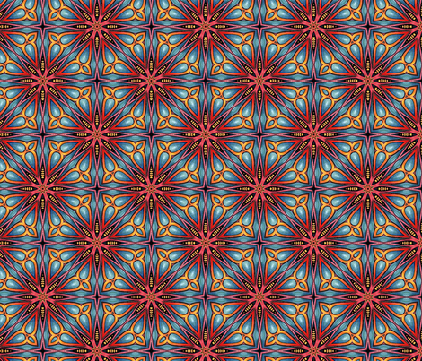 Vibrant veracity fabric by lisa_cat on Spoonflower - custom fabric