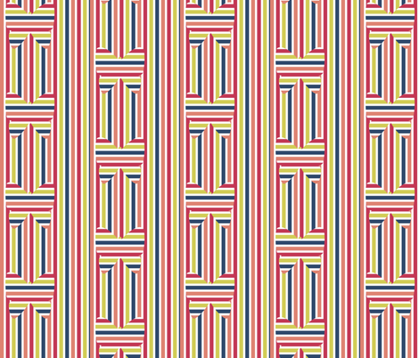 Metamorphosis of Stripes fabric by anniedeb on Spoonflower - custom fabric