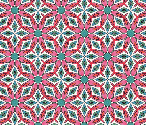Seventies chic fabric by lisa_cat on Spoonflower - custom fabric