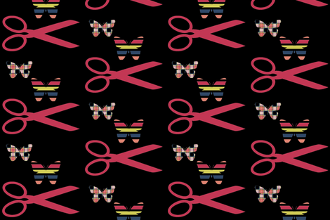 Matisse the Papercutter fabric by anniedeb on Spoonflower - custom fabric