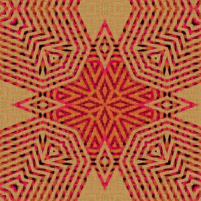 ikat-pink-snowflakes