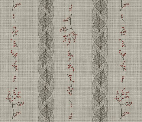 Linen_berry_leaf_stripe_shop_preview