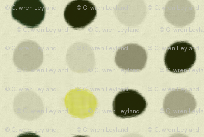 Gray Ikat Blobs