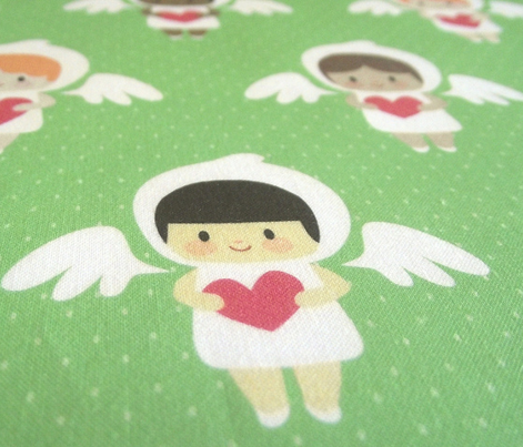 Kawaii angels (green)