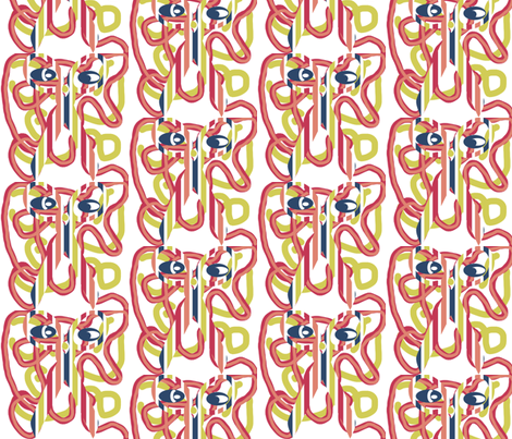 Elephant? fabric by anniedeb on Spoonflower - custom fabric