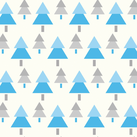 Through the Forest fabric by sugarxvice on Spoonflower - custom fabric
