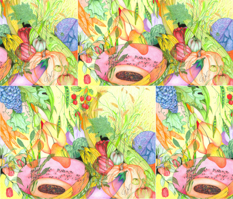 HRW005 fabric by thaibeachbob on Spoonflower - custom fabric