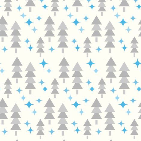 Walking in a.... fabric by sugarxvice on Spoonflower - custom fabric