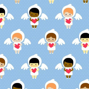 Kawaii angels (blue)