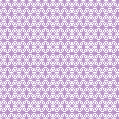 asanoha mini in charoite fabric by chantae on Spoonflower - custom fabric