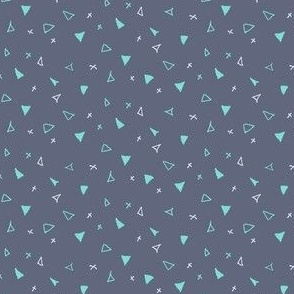 Ditsy Triangles