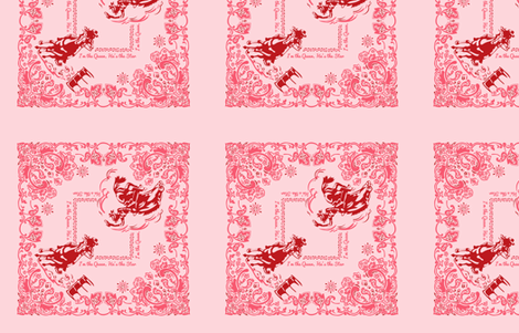 BandanaPINK fabric by caitlinrose on Spoonflower - custom fabric