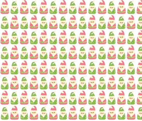 Wonderland Gnomes fabric by sugarxvice on Spoonflower - custom fabric