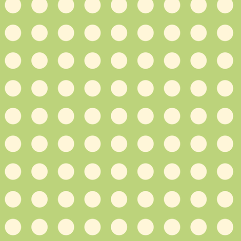 Dot on Green fabric by sugarxvice on Spoonflower - custom fabric