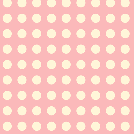 Dots on Pink fabric by thesugarwitch on Spoonflower - custom fabric