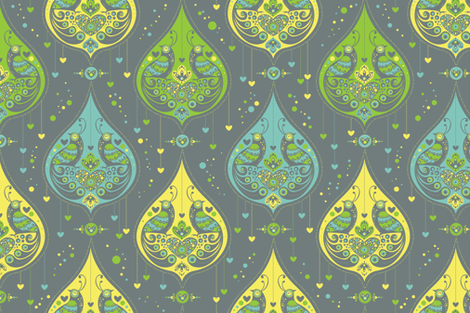 You are my Flight of Fancy fabric by cynthiafrenette on Spoonflower - custom fabric