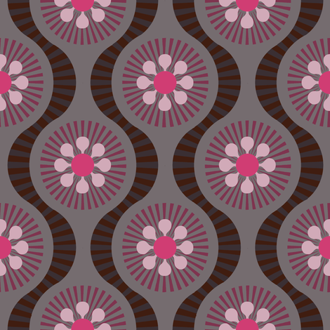 Mod Cocoa fabric by keweenawchris on Spoonflower - custom fabric