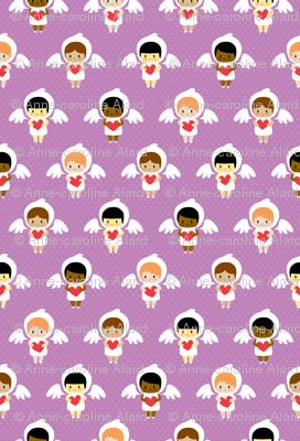 Kawaii angels (purple)