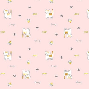 Kitties_ Pink
