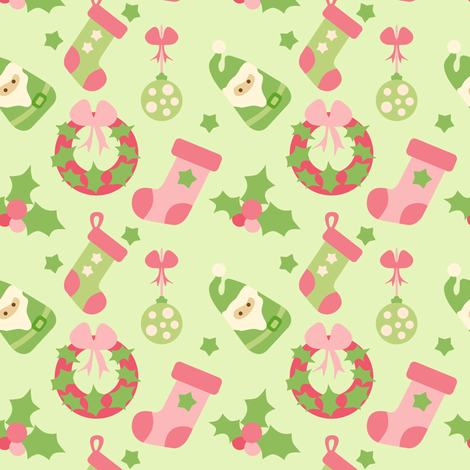 Collective Christmas fabric by sugarxvice on Spoonflower - custom fabric