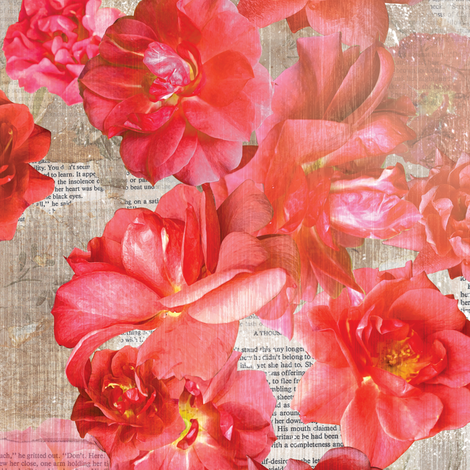 A Thousand Roses fabric by papermoonpatterns on Spoonflower - custom fabric