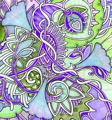 Romantic Lavender Waltz