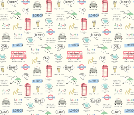 tour_of_london_repeat_copy fabric by amel24 on Spoonflower - custom fabric