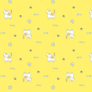 Kitties_ Yellow