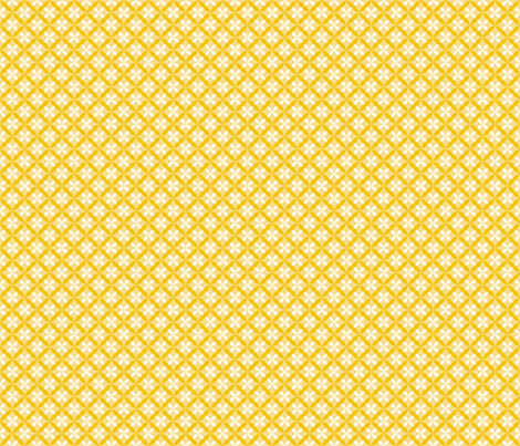 Nested Lattice Yellow B fabric by melaniesullivan on Spoonflower - custom fabric